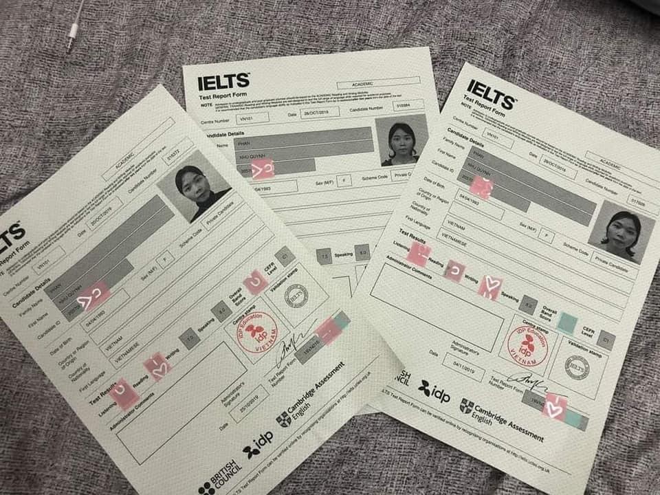 Nữ giáo viên IELTS nổi tiếng bị tố nâng khống điểm lừa học viên