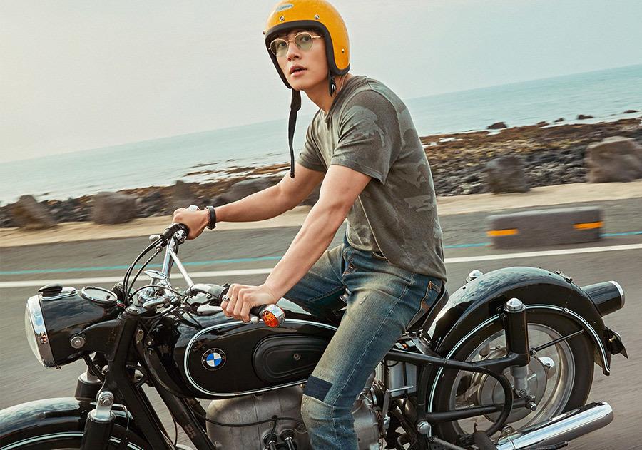 Ji Chang Wook, mỹ nam nức tiếng xứ Hàn đam mê mô tô