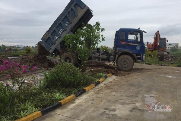 Phá hồ DN Trung Quốc ở Hải Phòng xây giống 'đường lưỡi bò' phi pháp