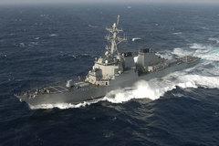 Tàu chiến Mỹ tuần tra tự do hàng hải gần Hoàng Sa