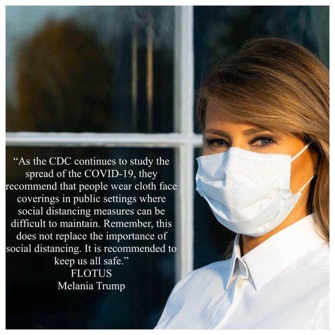Phó tổng thống Mỹ không đeo khẩu trang đi thăm bệnh viện giữa mùa dịch