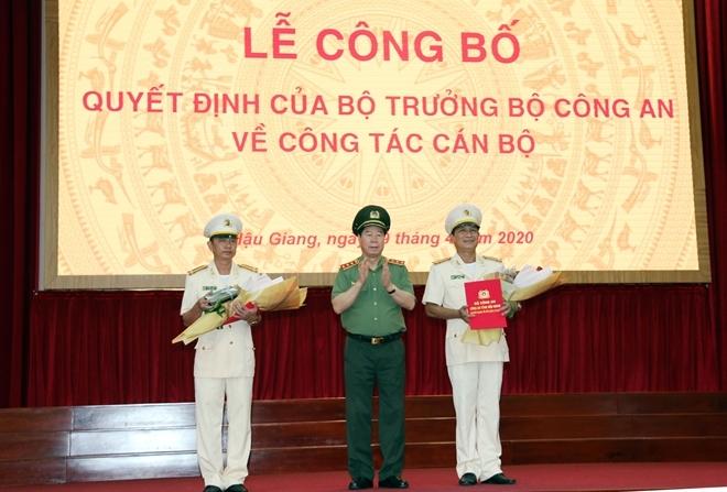 Thượng tá Huỳnh Việt Hòa làm Giám đốc Công an Hậu Giang