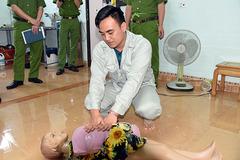 Thực nghiệm điều tra vụ sát hại con riêng 4 tuổi của người tình ở Phú Thọ