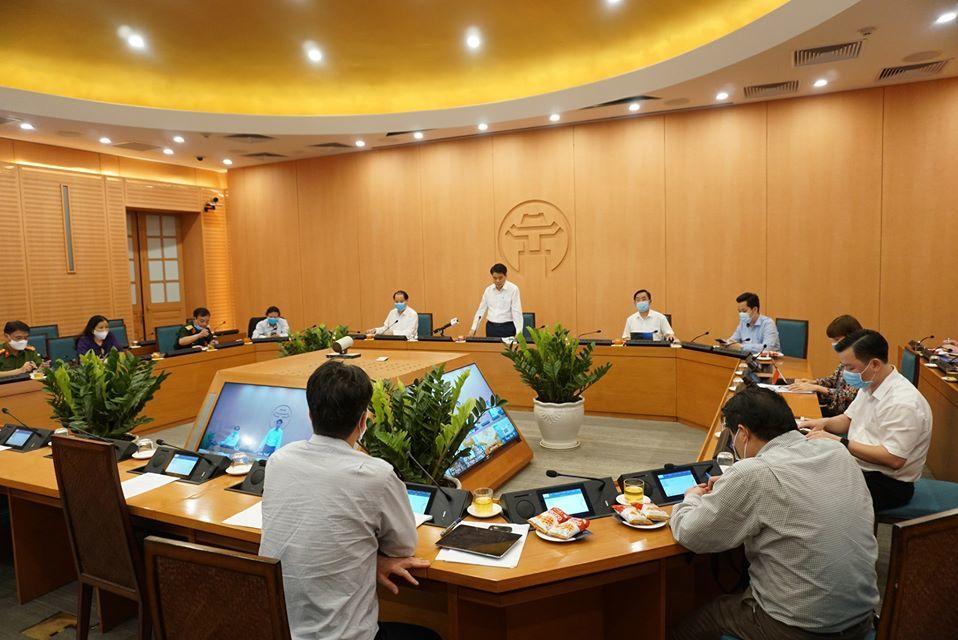 Ông Nguyễn Đức Chung: Hà Nội nghiên cứu giãn cách giờ làm