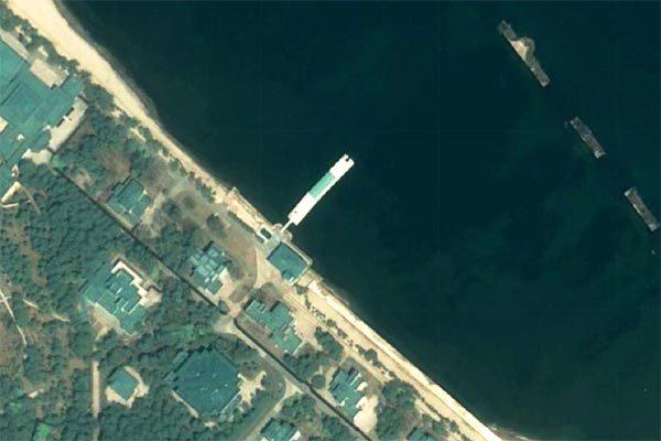 Ảnh vệ tinh hé lộ nghi vấn nơi Kim Jong Un đang ở