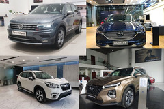 Top 10 xe giảm giá mạnh nhất hiện nay