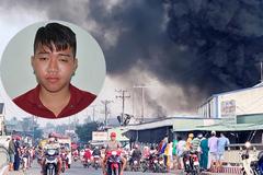 Khởi tố nam thanh niên đốt sản phẩm cháy kho hàng, thiệt hại hàng chục tỷ