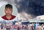 Nam công nhân đốt sản phẩm khiến kho hàng cháy rụi, thiệt hại hàng chục tỷ