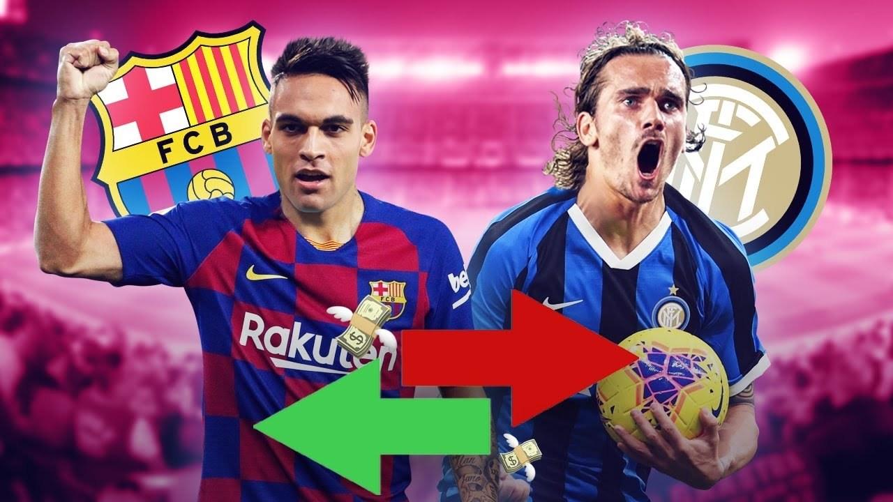 Barca thỏa thuận đổi Griezmann lấy Lautaro Martinez