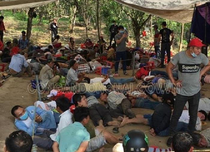 Công an 2 tỉnh triệt phá sòng bạc lớn nhất Đồng Nai