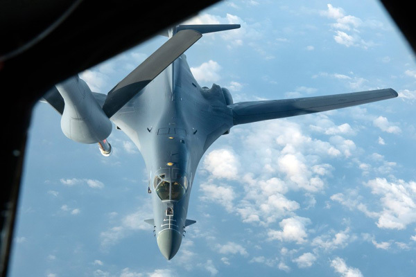Mỹ điều 2 máy bay ném bom đến Biển Đông