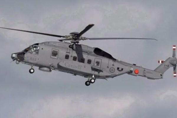 Trực thăng quân sự Canada bị rơi ở Địa Trung Hải