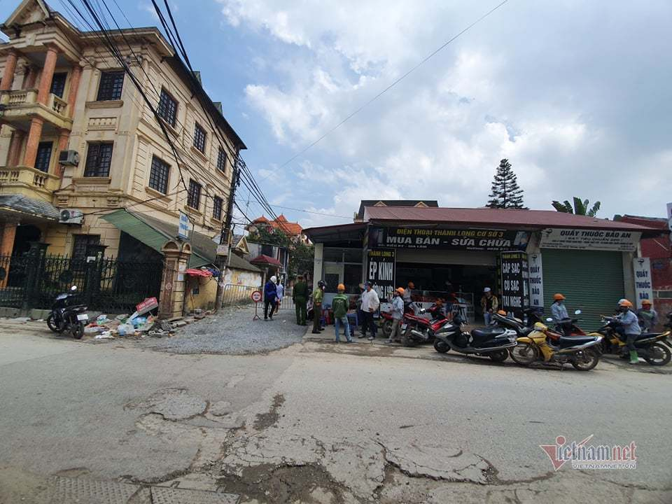 Hà Nội phong tỏa thôn Kiêu Kỵ với 600 người dân