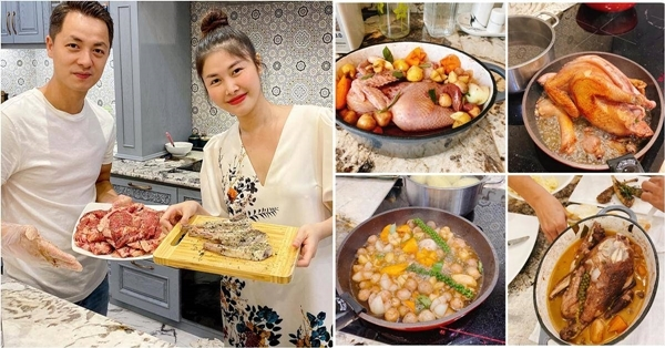 Những 'ông chồng vàng' tài giỏi, nấu ăn ngon của các mỹ nhân Việt