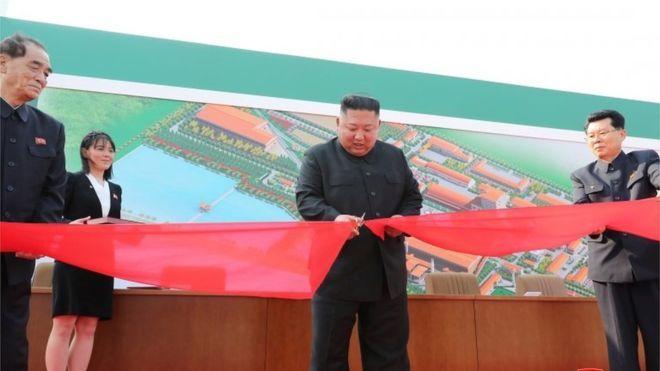 Kim Jong-un appears in public, North Korean state media report