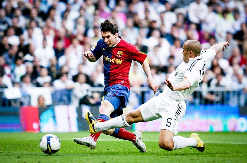 Ngày này năm xưa: Messi và Barca đánh tennis tại Bernabeu