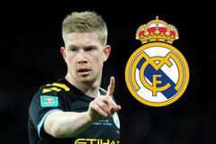 Real trả lương cao, De Bruyne dứt áo rời Man City