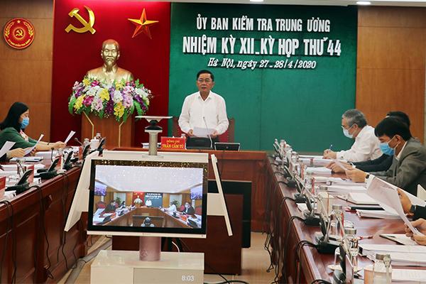 Đề nghị khai trừ Đảng cựu Thứ trưởng Quốc phòng, khai trừ 2 thanh tra Bộ Xây dựng