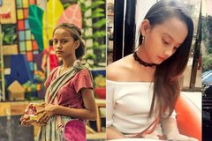 Cuộc sống hiện tại của cô gái ăn xin trở thành người mẫu