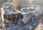 Xe bán tải cháy rụi trên quốc lộ, bên trong có thi thể biến dạng