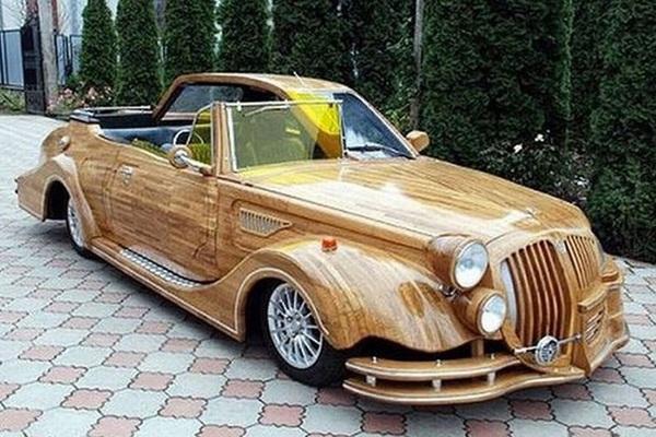 Những chiếc ô tô bằng gỗnổi nhất thế giới, Việt Nam góp 1 xe