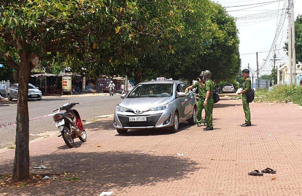 Lời khai của lái xe đâm chết đồng nghiệp vì giành cuốc taxi