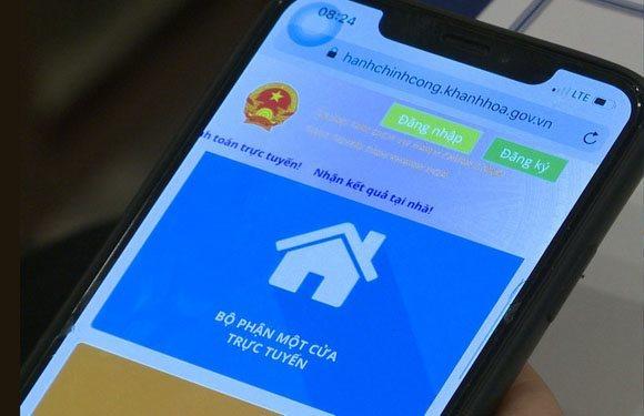 Khánh Hòa giao chỉ tiêu hồ sơ giải quyết trực tuyến mức 3, 4 cho các đơn vị