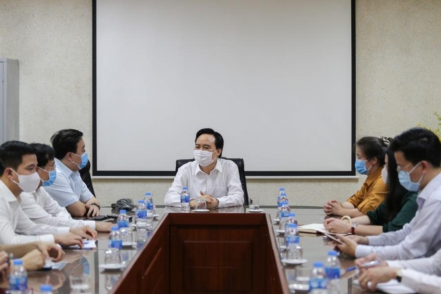 Bộ trưởng Giáo dục: 'Có thể để một số nội dung dạy học sang năm học mới'