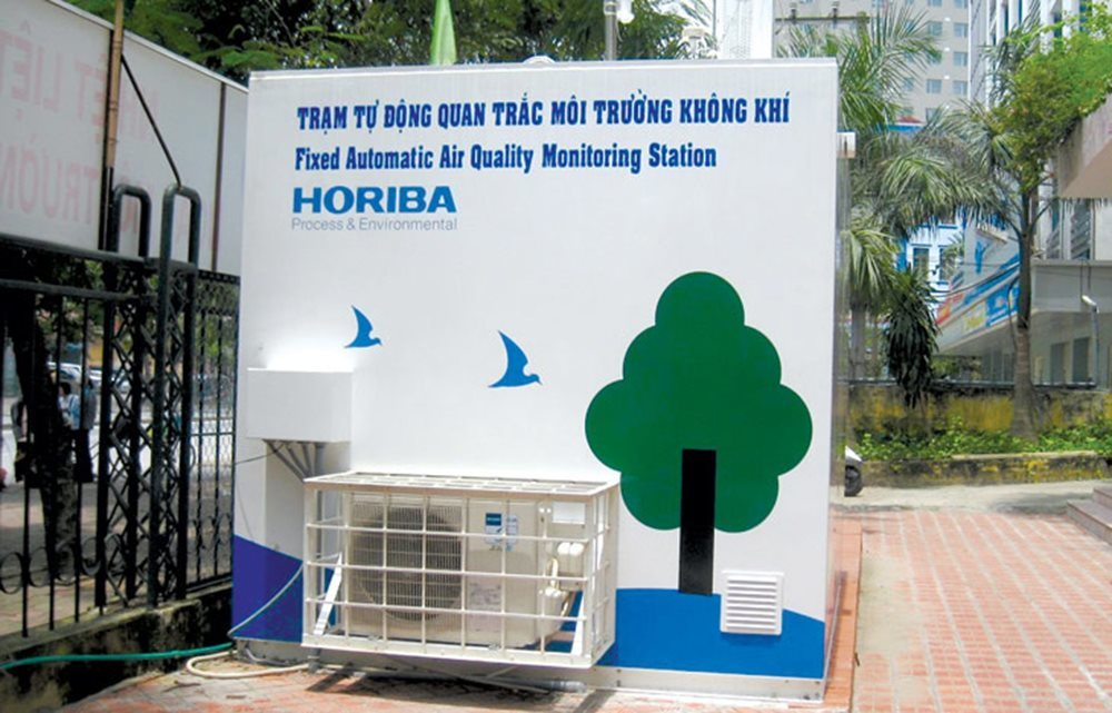 air quality,MONRE,air monitoring station,Vietnam environment