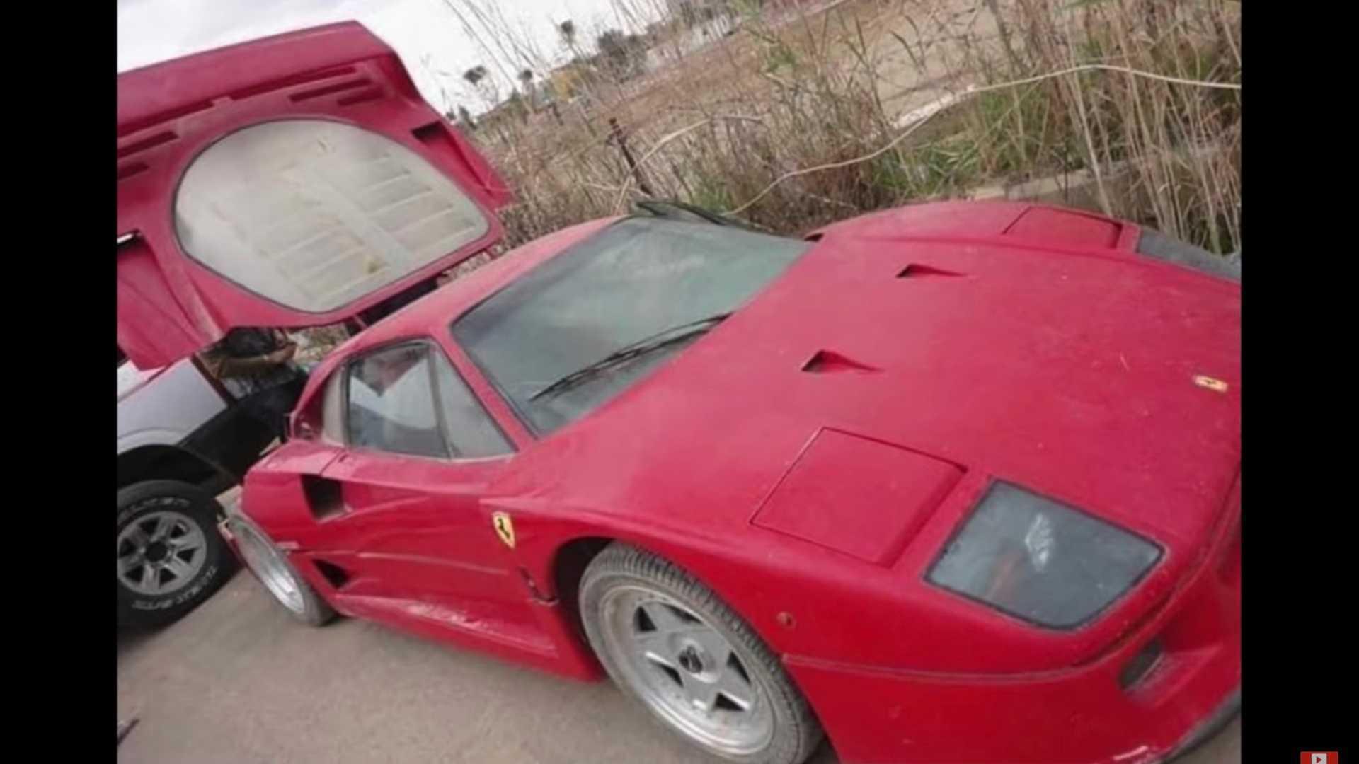 Ferrari F40 của con trai cố Tổng thống Sadam Hussein rao giá hơn 1 triệu USD