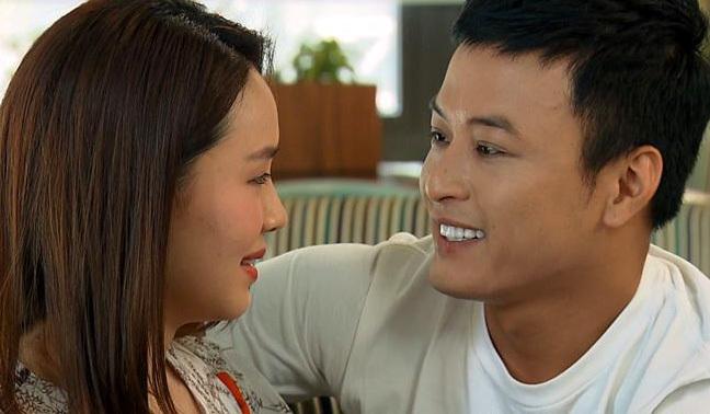Cảnh hạnh phúc của Hồng Đăng - Hồng Diễm khiến khán giả thích thú