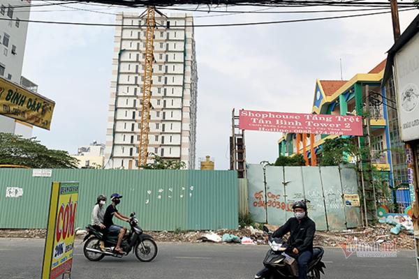 Vì sao TP.HCM cho tồn tại vi phạm xây dựng tại dự án Tân Bình Apartment?