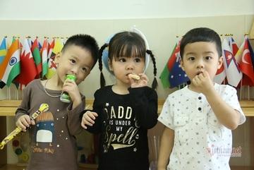 Trẻ mầm non và tiểu học ở Hà Nội khi quay lại trường có học bán trú?