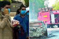 Đi đón dâu bị cháy xe, chàng trai được cảnh sát cho nhờ xe chuyên dụng tới đám cưới