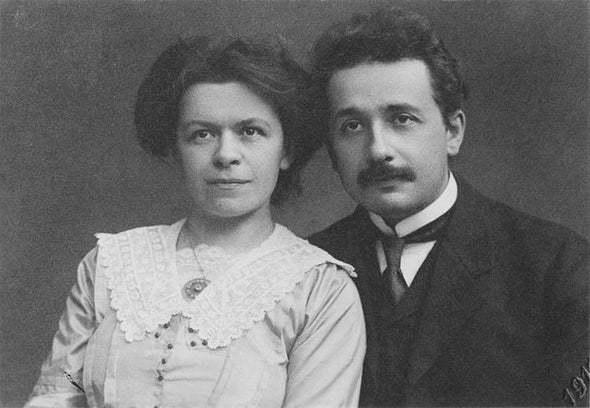 Góp công lớn, vợ nhà bác học Einstein vẫn bị chồng ghẻ lạnh