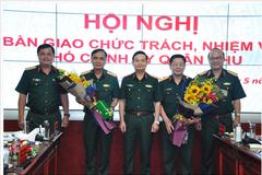 Bàn giao chức trách, nhiệm vụ Tham mưu trưởng, Phó Chính ủy Quân khu 7