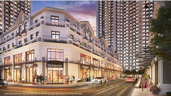 Sắp có 'tổ hợp shop downtown' phồn hoa trong Vinhomes Smart City