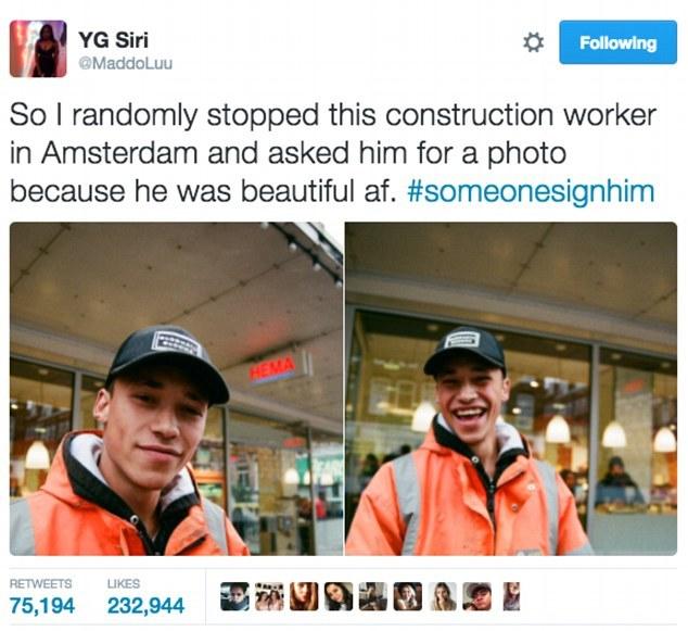 Chàng công nhân đổi đời nhờ một bức ảnh