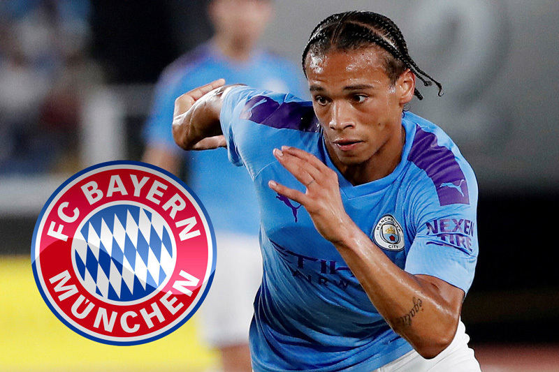 Bayern Munich sờ vào Leroy Sane, Man City hét giá 'khủng'