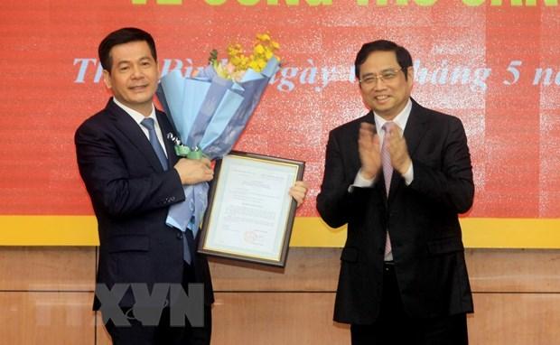 Bí thư Thái Bình Nguyễn Hồng Diên làm Phó Ban Tuyên giáo TƯ