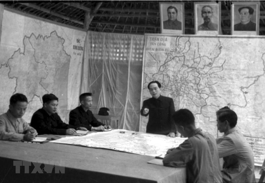 Dien Bien Phu Campaign,President Ho Chi Minh,General Vo Nguyen Giap