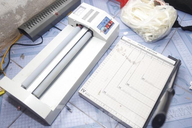 Đường dây sản xuất, bán gần 1 tỷ tiền giả ở Nam Định