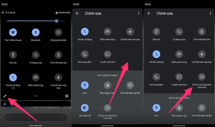Cách quay phim màn hình trên Android 11