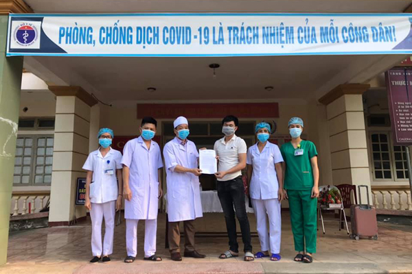 Bệnh nhân Covid-19 cuối cùng ở Hà Tĩnh khỏi bệnh
