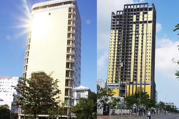 Tự thay đổi kiến trúc, 2 tòa nhà ở Đà Nẵng bị 'tuýt còi'