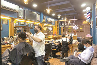 Hair salons reopen, offer online bookings