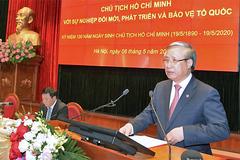 Ông Trần Quốc Vượng: Học Bác để xây dựng Đảng trong sạch, vững mạnh