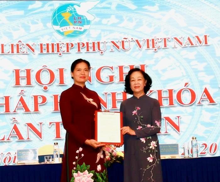 Phó bí thư Lào Cai giữ chức Chủ tịch Hội Liên hiệp phụ nữ Việt Nam