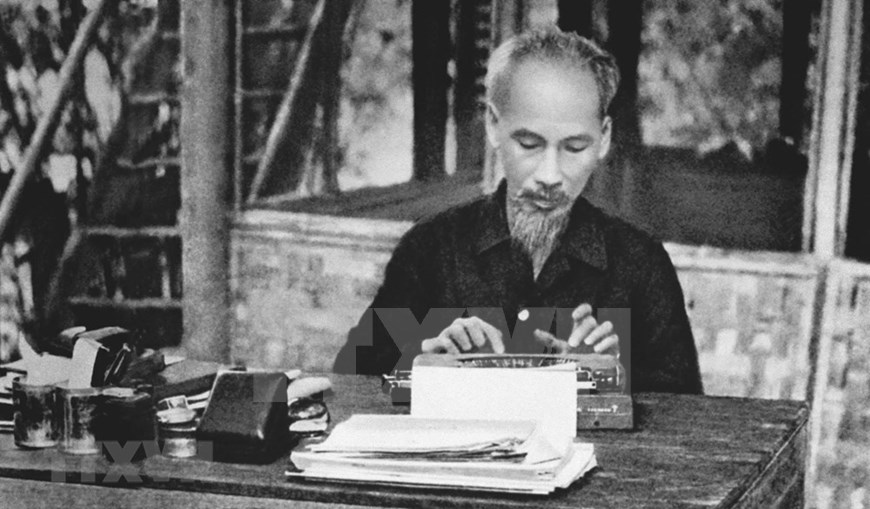 President Ho Chi Minh,French resistance war,Vietnam in photos