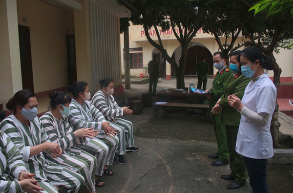 Timely action keeps case count in prison in VN at zero, says prison chief